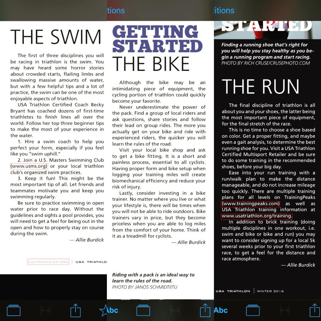 USA Triathlon Magazine - Winter 2016