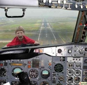 This is how safe I feel on a plane.