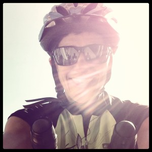 That's the face of a cyclist if I ever saw one.