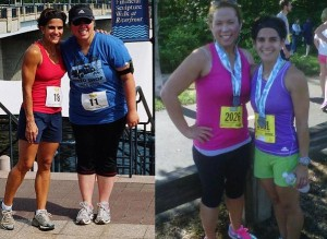 One of my most memorable clients (and now friends!) before and after pics.  She is amazing!