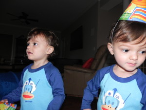 The boys second birthday.  Didn't I just take this yesterday? UGH!