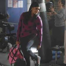 Is she working out or shopping in this outfit?  She said those sneaks are also worn by Chris Christie - HA!