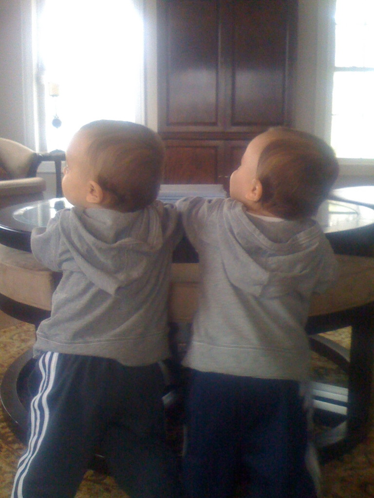 I should have known it was over the moment they learned to stand!