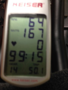I hope I never see these kind of number again on a spin bike!