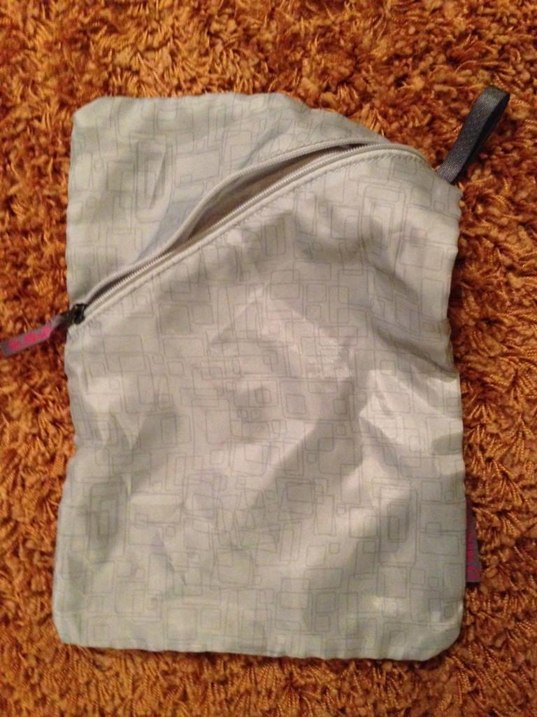 Waterproof stink sack.