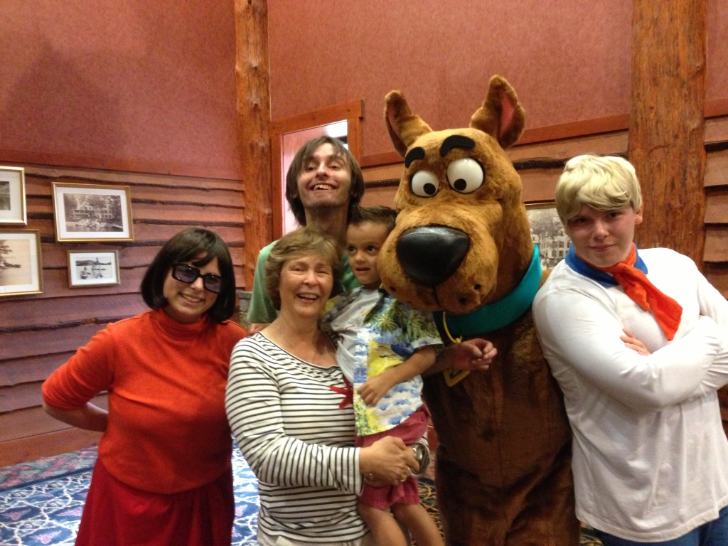 Meme has come to love all things Scooby Doo - because her grandkids do.