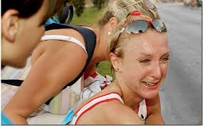 Ok so this is Paula Radcliffe when she realized she was not winning the London marathon and was in unbearable bodily pain.  But still.  This was how I felt.