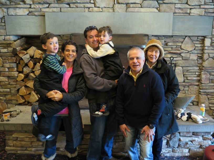 At Okemo Mountain in VT this winter.  One of the annual trips we take with my dad and stepmom.