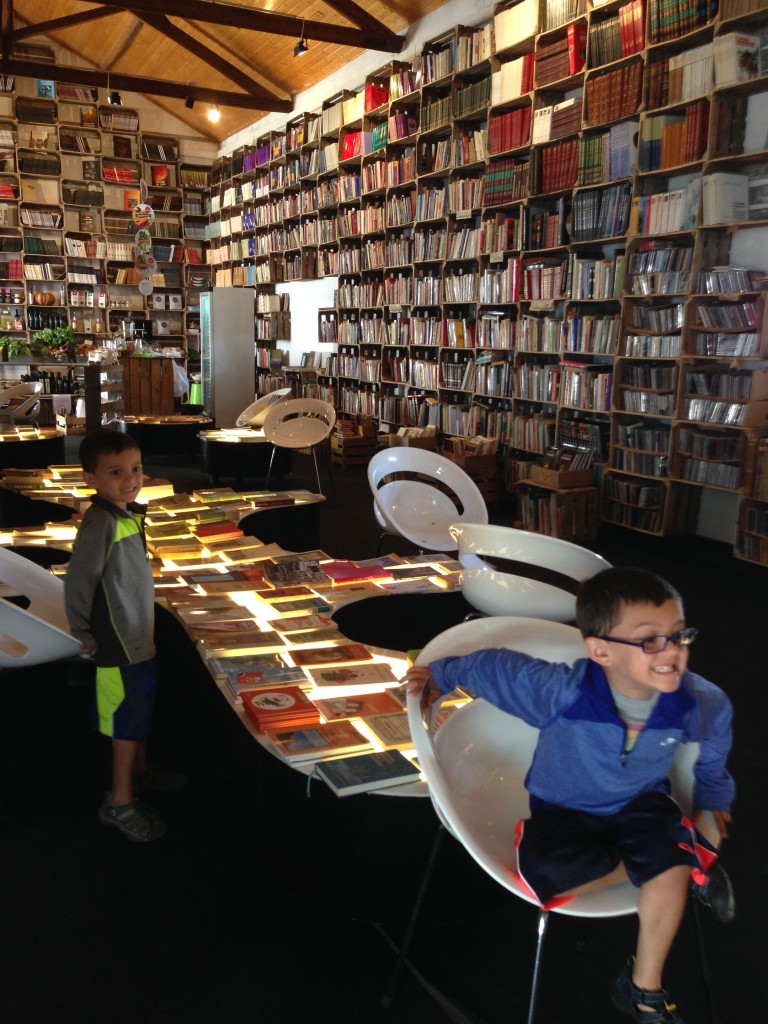 Coolest bookstore ever!