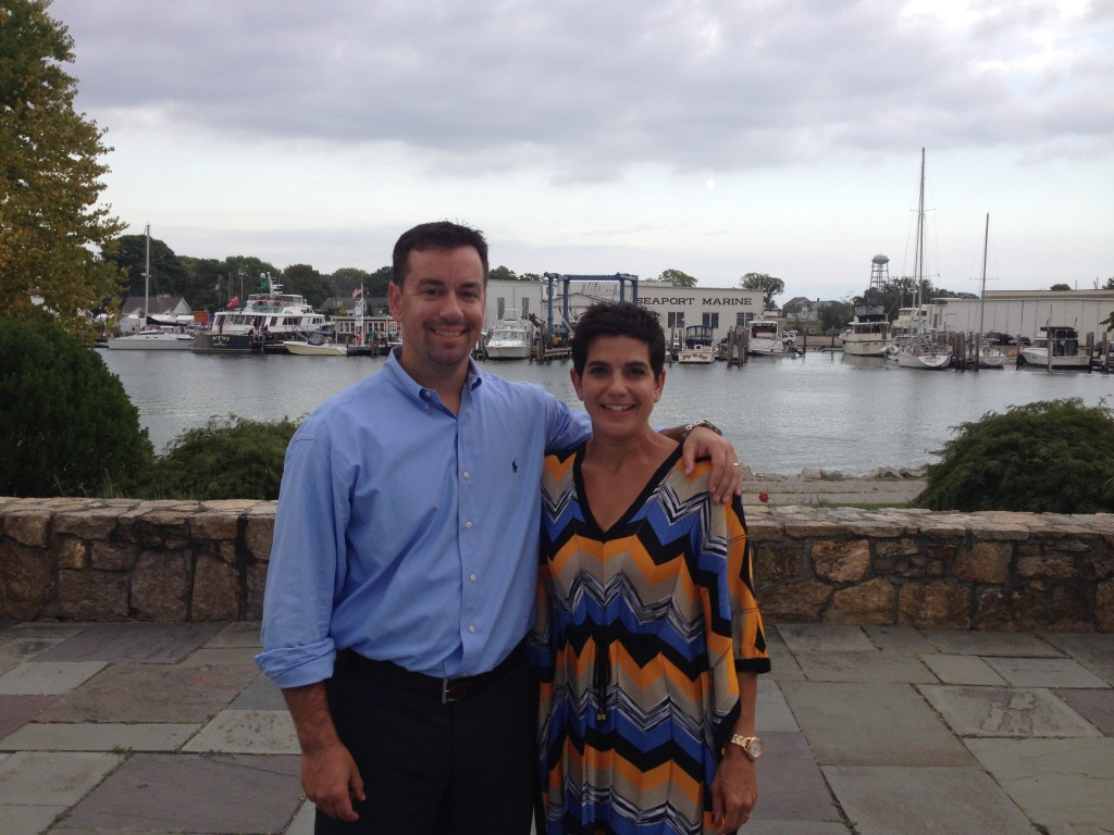 The wedding was in beautiful Mystic CT and yes, we ate at Mystic pizza because it's like a law when you're there.
