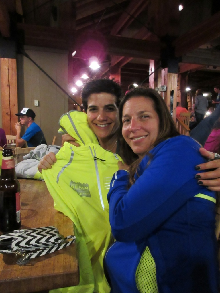 Thanks Melissa for having me on your team! BUT, I kinda hate theses day-glow jackets.