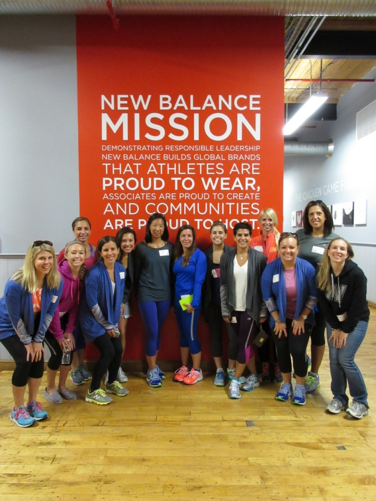 The whole team at New Balance!