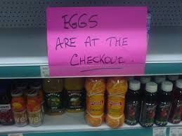 If only the eggs had been harder to get!