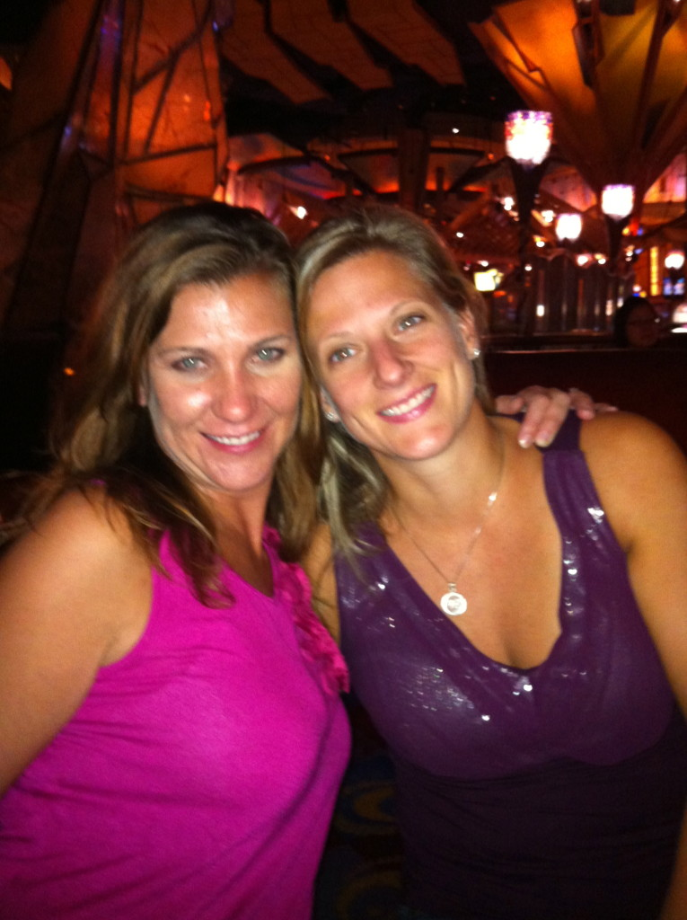 Girls weekend at Mohegan! My friend Tara (who I've known since high school) and Julie.