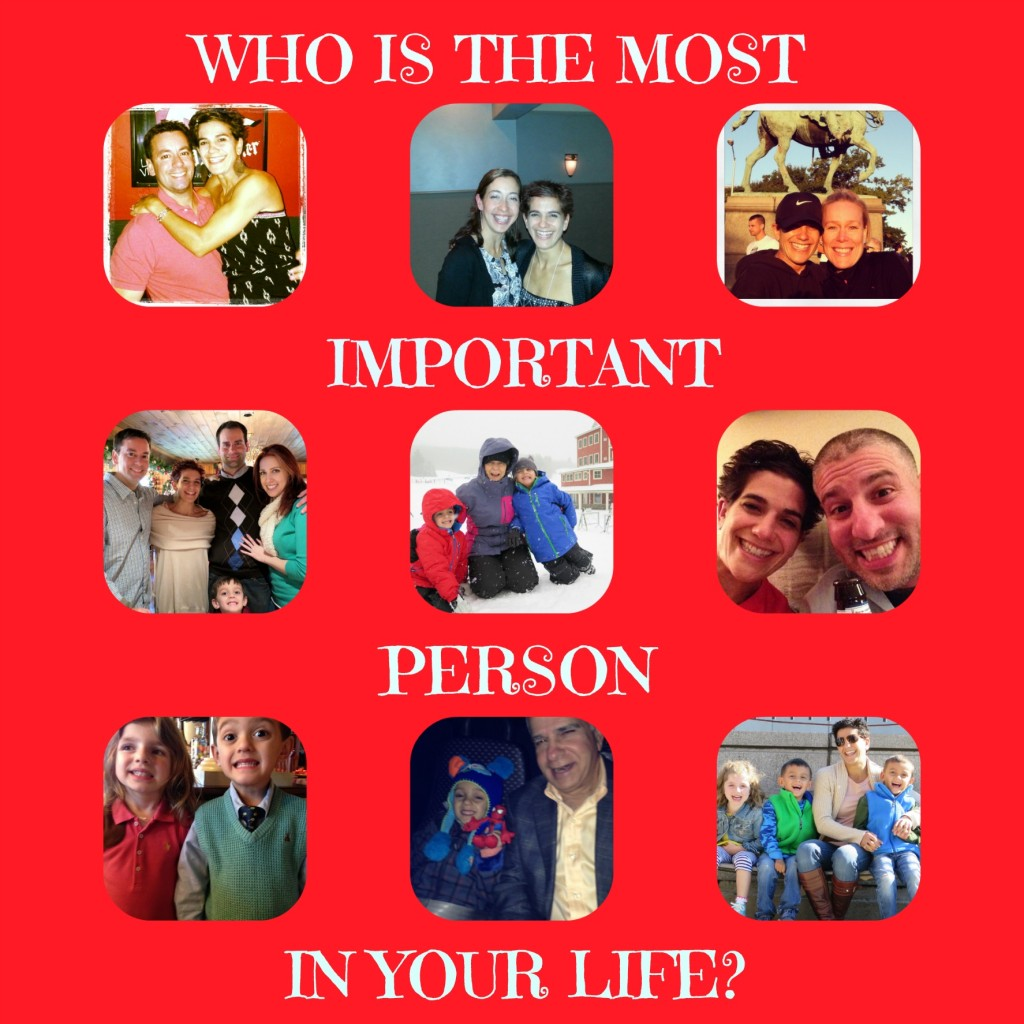 Who is the most important person in your life essay