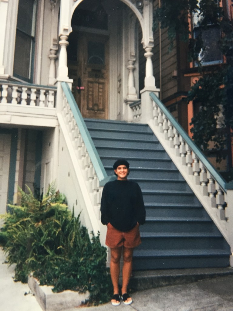 This was the first time I went to San Francisco in 1998 when I was 23. I'm pretty sure this is Jerry Garcia's house. It was very important to me to see it.