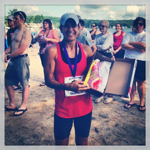 Winning the whole damn thing (and new shoes!) in 2012.