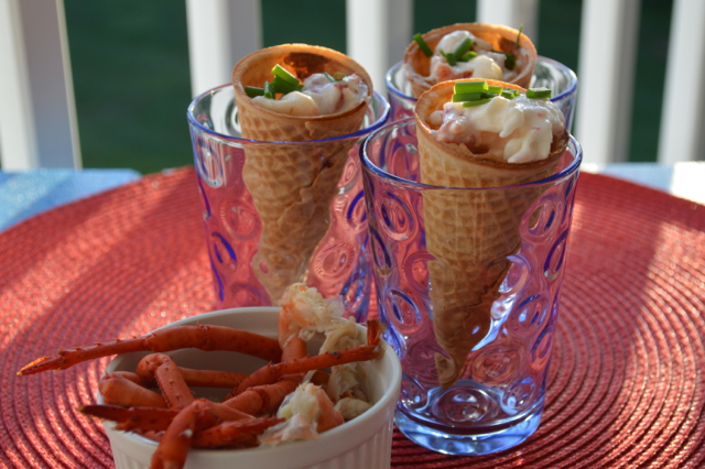 Lobster in an ice cream cone? Hell yes I can do that!