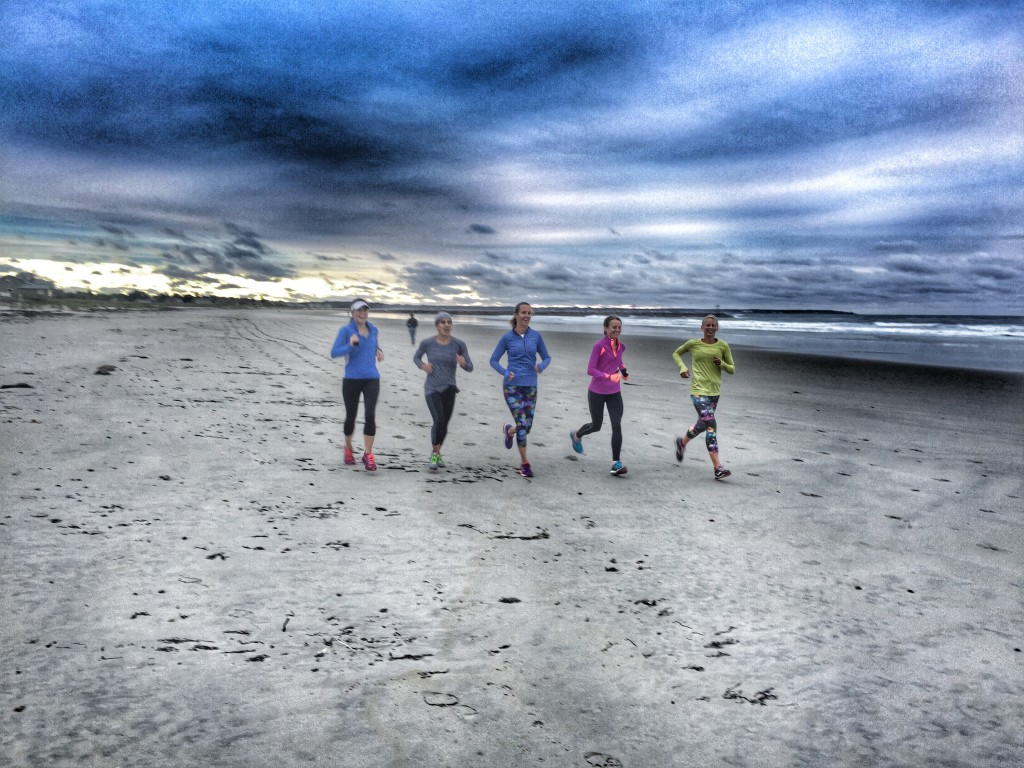 Running an easy 3 miler on the beach was one thing...racing 13.1 miles was quite another.