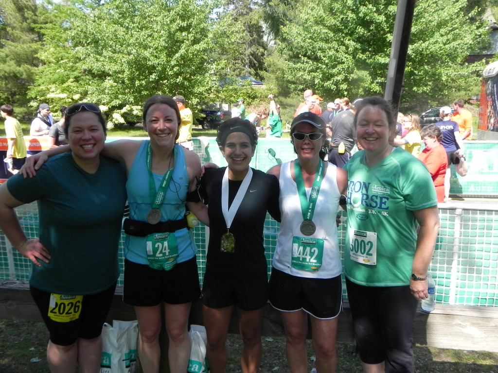 Some of my favorite clients after a race they trained for months to finish. Nothing but smiles. This is LIVING!