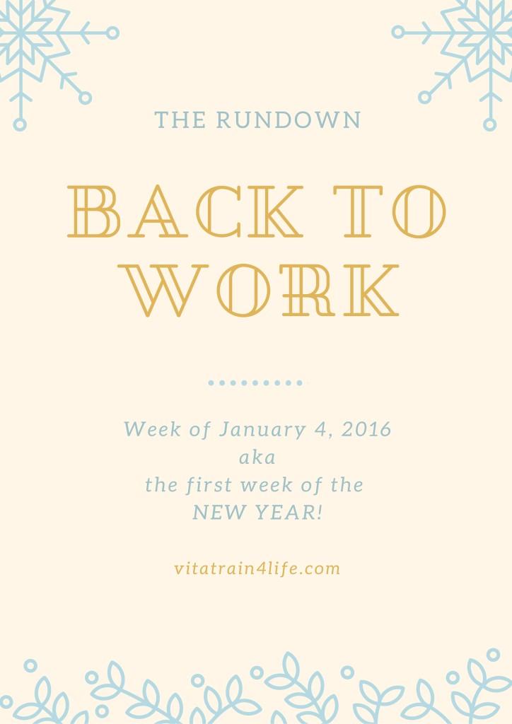 back towork