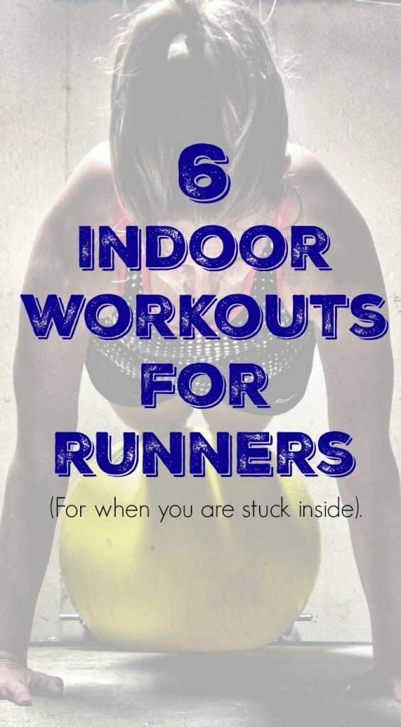 Check out these 6 workouts for runners the next time you need a quick sweat session while stuck inside.