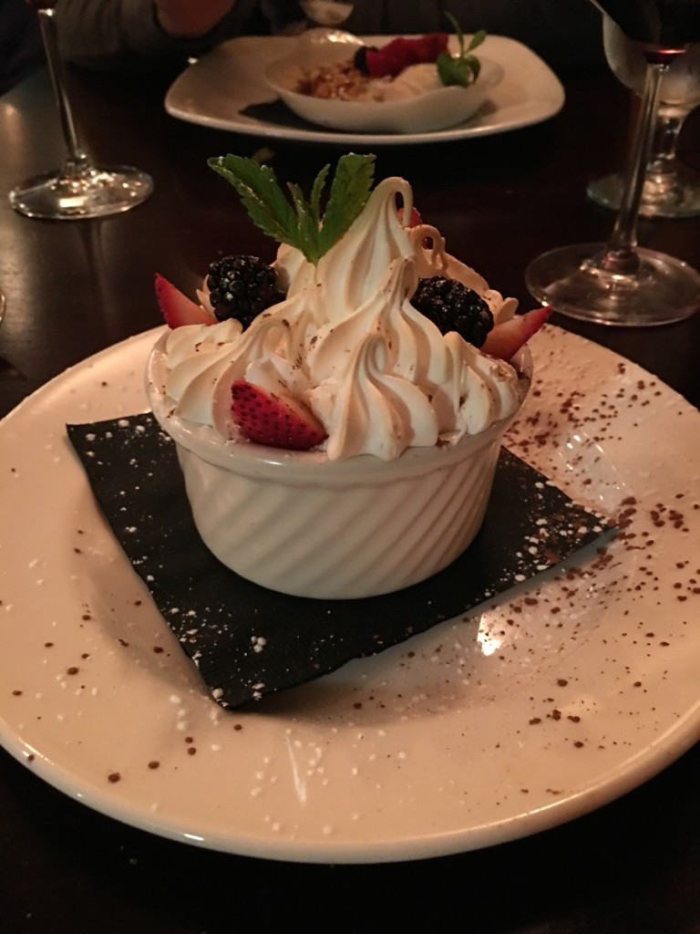 The most incredible dessert on the planet at Relish.