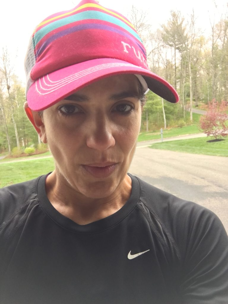 "This is my ""stick a fork in me"" face, taken after my bike/run/bike/run/bike/run/bike/run last Friday."