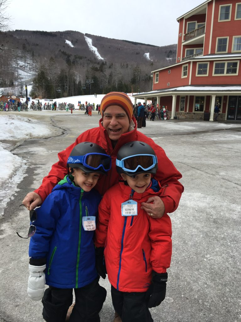 On our annual trip to Okemo!