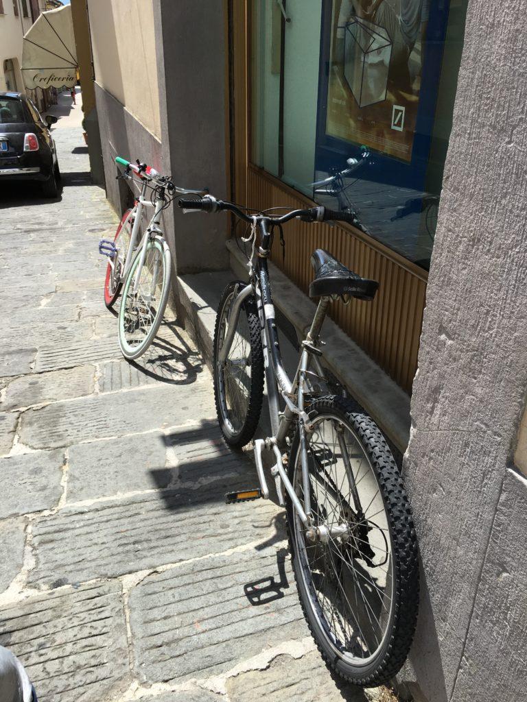 No bike lock needed.