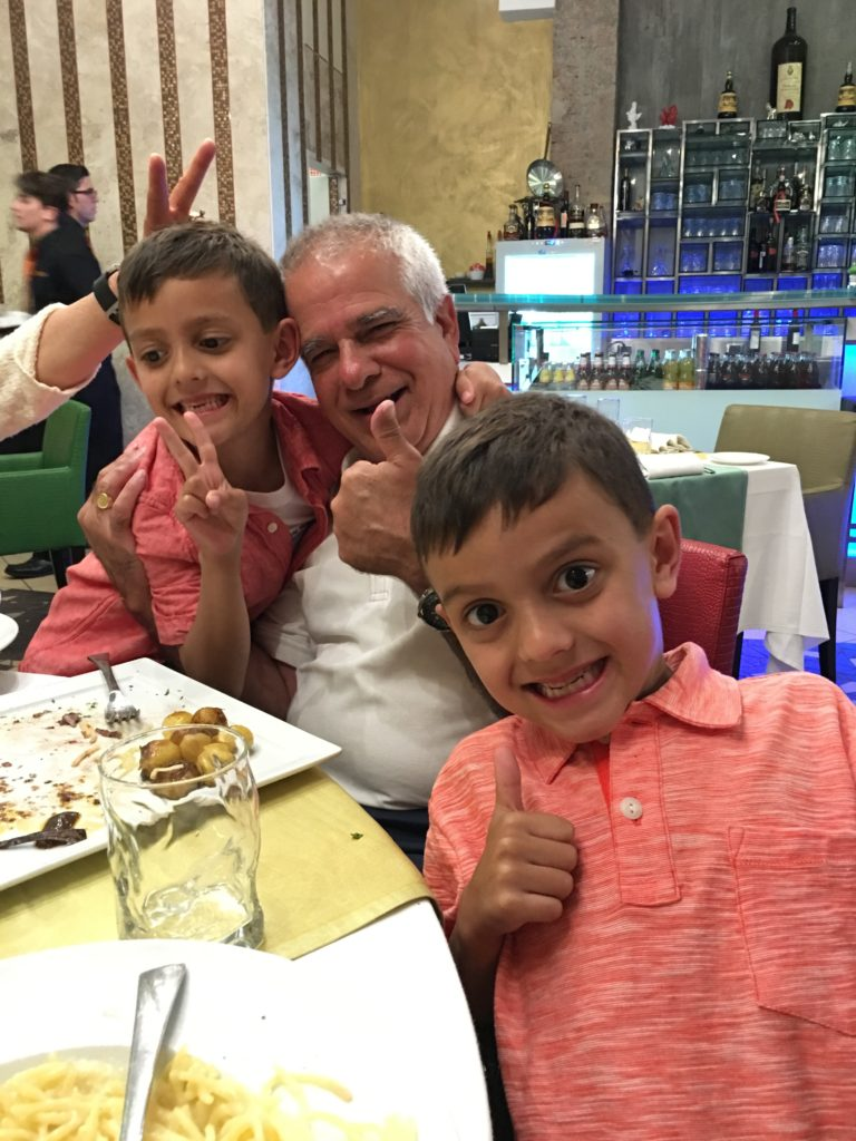 Papi and his two best buddies!
